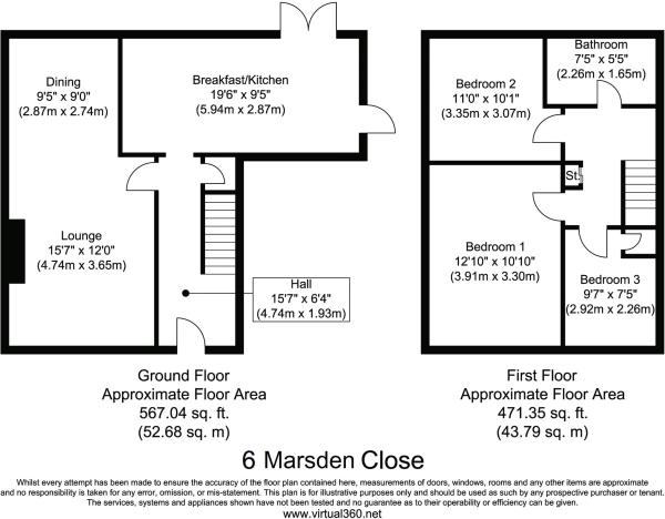 6 Marsden Close