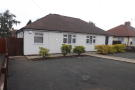 Bungalow to rent in Mosswood Street, Cannock