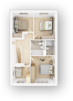 3D-Floorplan-The-Monkford-FF