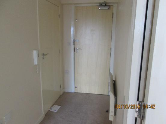 Entrance into Flat