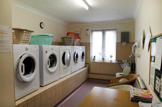 Communal laundry