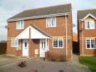 semi detached house to rent in Harvester Way, Crowland...