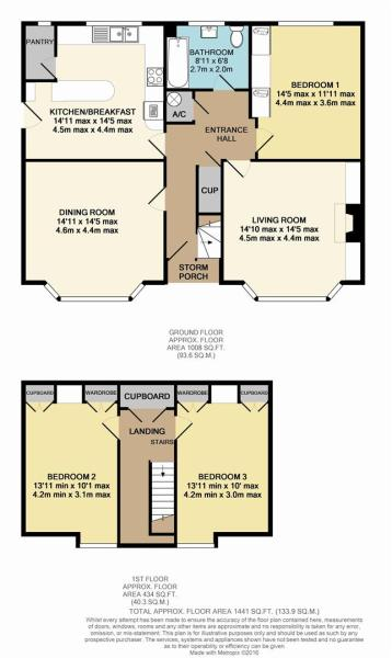 Floor Plan - 21 Nevi