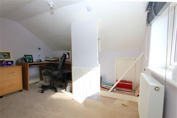 Bonus loft area
