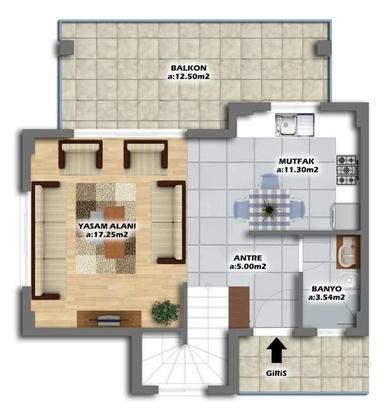 Top Floor Villa