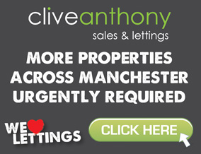 Get brand editions for Clive Anthony Sales & Lettings, Manchester