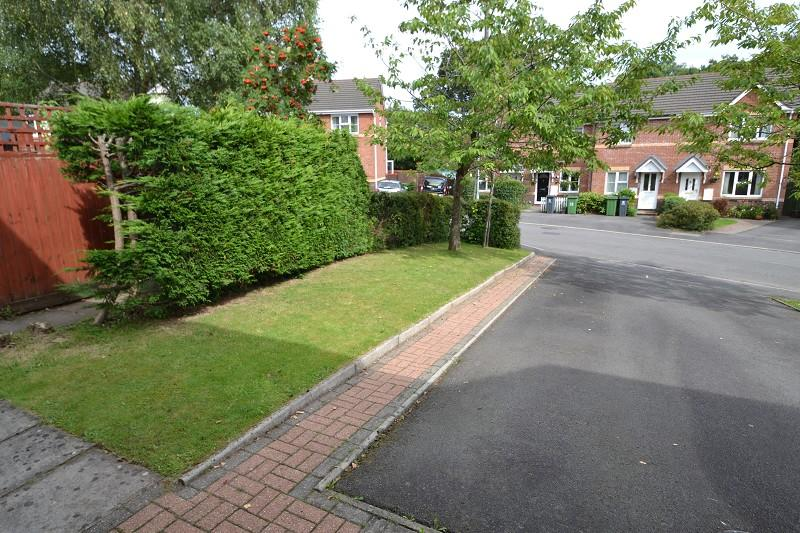 Driveway and entrance