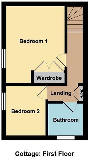Cottage: First Floor