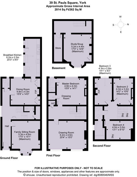 St Pauls Square Floor Plan