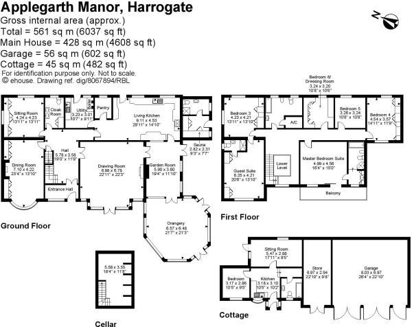 6 Bedroom Detached House For Sale In Applegarth Manor
