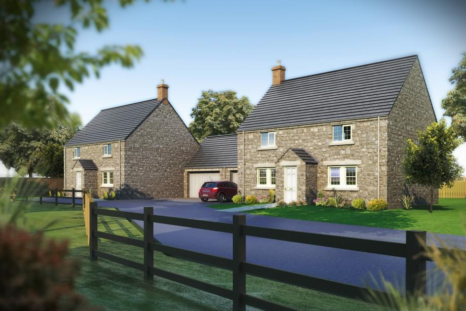 Smithy cottage kitchen area - Bedroom Detached House For Sale In Smithy Cottage Farriers Yard