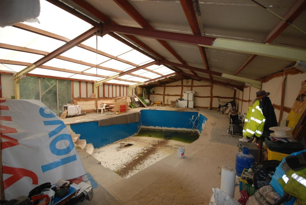 Unfinished Pool