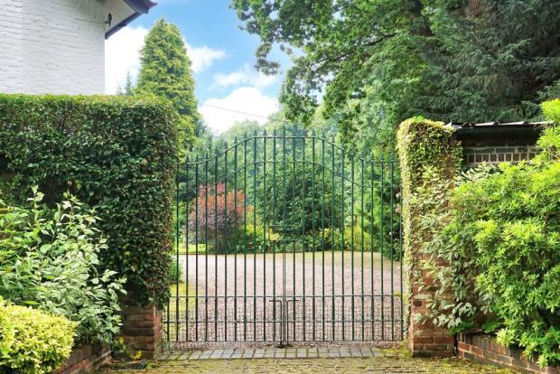 Front Exterior Gates