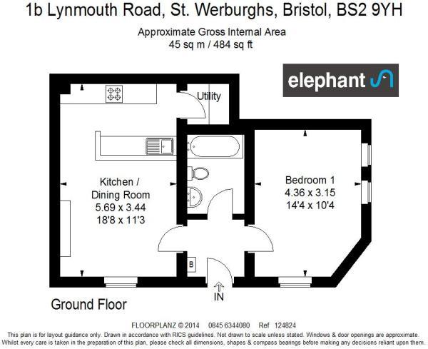 1b Lynmouth Road 124