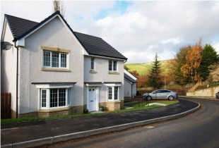 Vinery Park by Barratt Homes, Meigle Row,