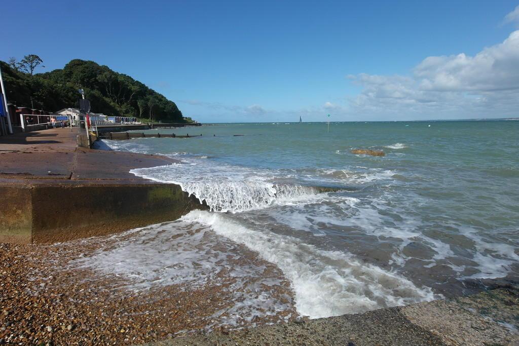 Colwell Bay beach...