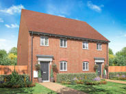 3 bed new property in Kings Quarter...