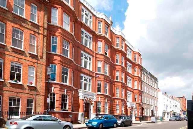 Exterior of Block/Street Photograph