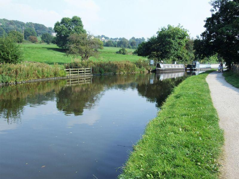 Picturesque canal