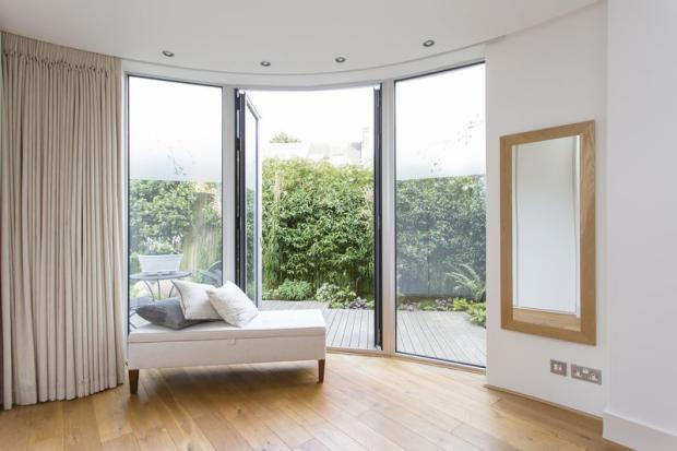 bedroom to garden