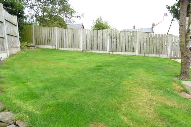 Lawn In Rear Garden