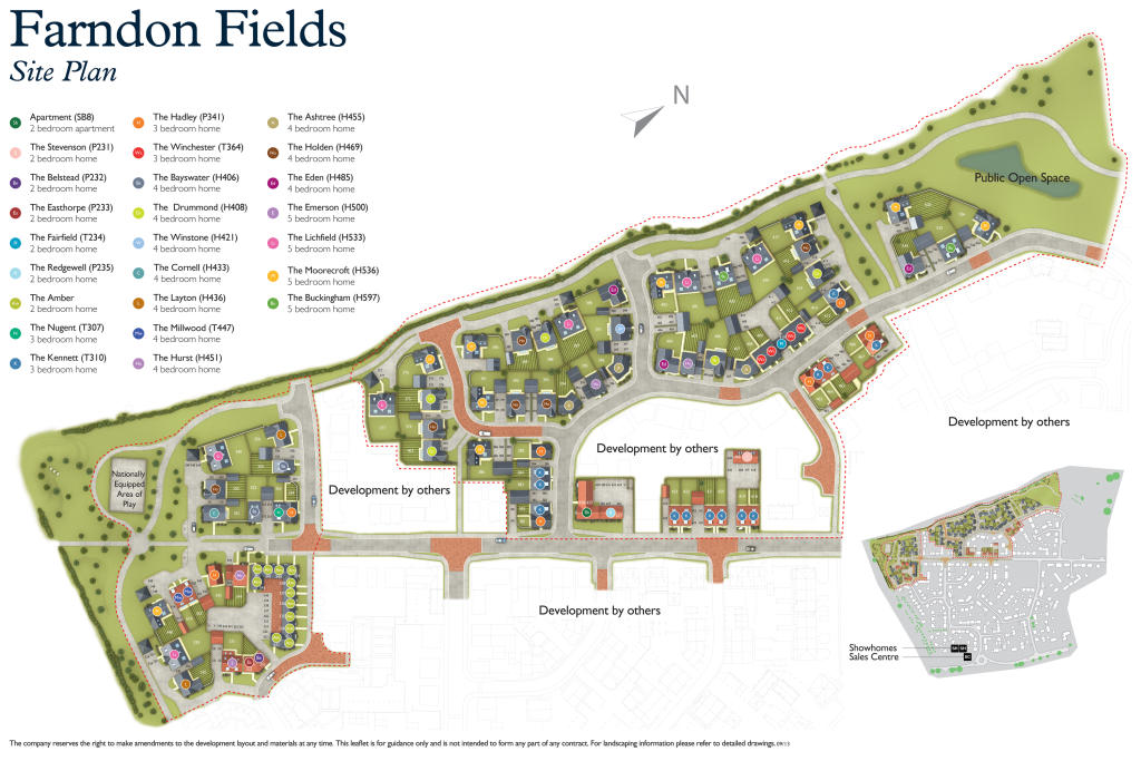 Farndon Fields New Homes Development By David Wilson Homes