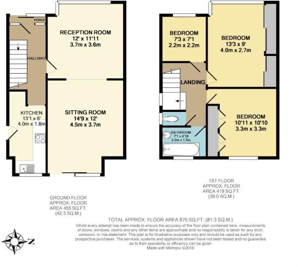 6 Kirkway Floorplan
