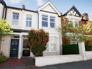 Terraced house in Shalimar Gardens, Acton