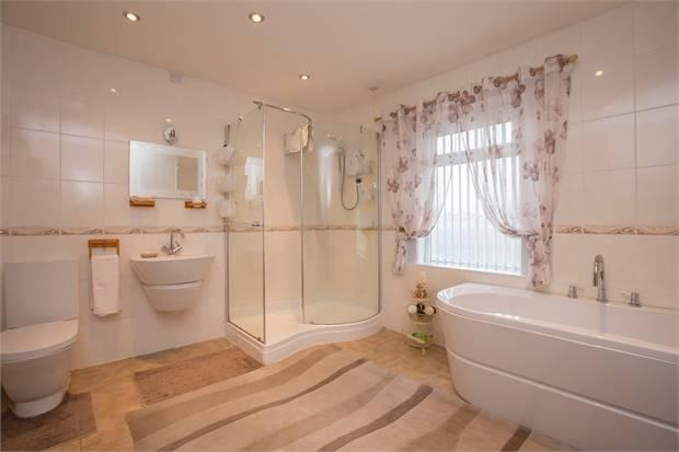 4 PIECE FAMILY BATHROOM SUITE