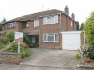 semi detached home for sale in Sefton Road, Cannon Hill...