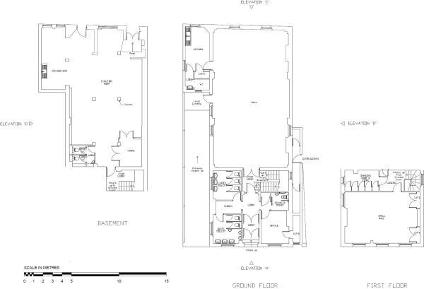 Existing floor...