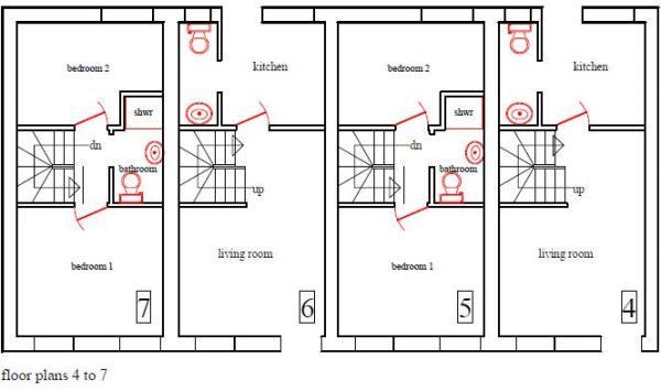 floor plans 4 ...