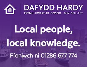 Get brand editions for Dafydd Hardy, Caernarfon