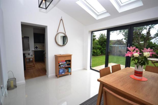 sun room - kitchen 1