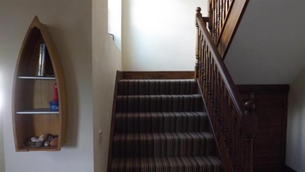 Stairway to first fl