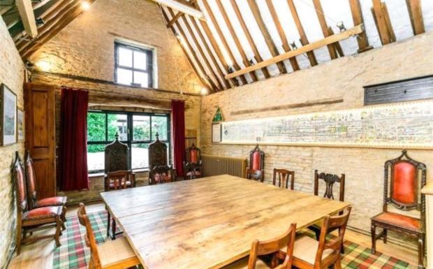 Tithe Barn Interior