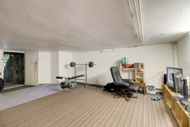 Cellar gym room