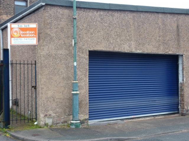 Light industrial to rent in garage unit sutherland works for Sutherland garage