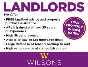 Get brand editions for Wilsons Residential - Sales and Lettings, Westbury