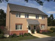 3 bedroom new house in Heol Y Mynydd, Bryn...