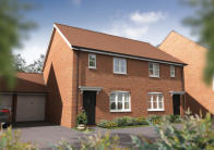 3 bed new home for sale in Sword Drive, Hinckley...