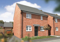 3 bed new property in Sword Drive, Hinckley...
