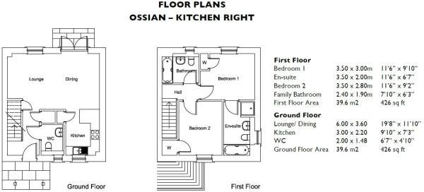 Ossian Floorplan