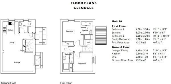Glenogle Floorplan