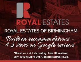 Get brand editions for Royal Estates, Birmingham