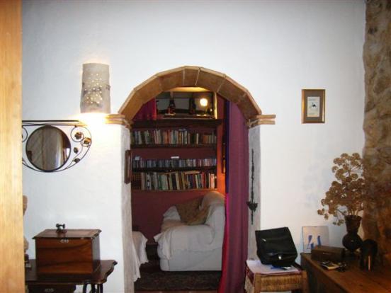 Rustic archway