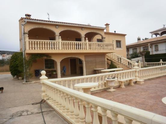 The villa!