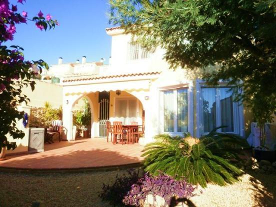 Villa from gardens