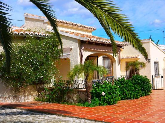 Side of villa