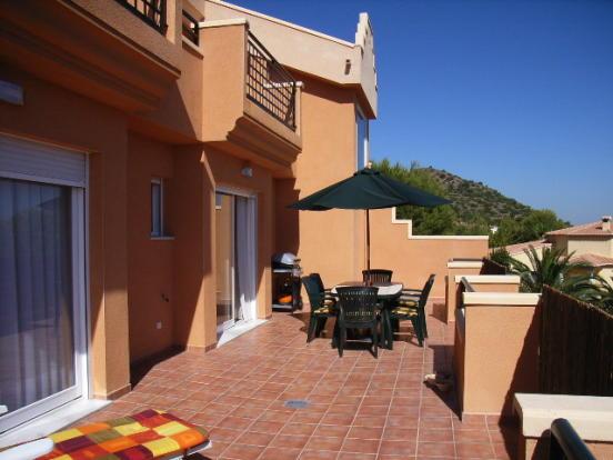 Huge open terrace